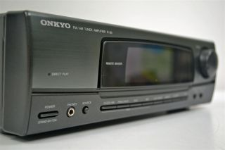 Onkyo Stereo Am FM Receiver Tuner Amplifier Amp R 30