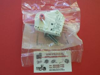 New OEM Whirlpool Kenmore Maytag Amana Refrigerator Defrost Timer
