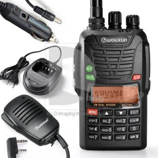 WOUXUN KG UV6D Radio Dual Band HT VHF UHF FM Two Way Radio Kit with