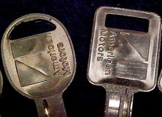NOS Original Key Blanks AMC Javelin AMX & All 70   84