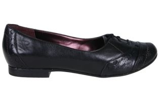 Indigo by Clarks Womens Shoes Amarone Black Leather 85980 Sz 6 M