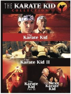 Karate Kid Collection Box Set (DVD, 2005, 3 Disc Set) NORIYUKI set  4