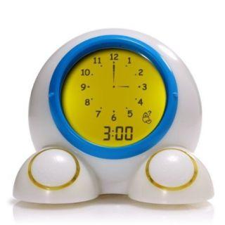 American Innovative Teach Me Time Talking Alarm Clock and Nightlight