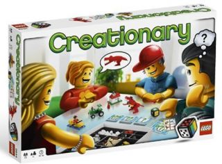 3844 Lego Game CREATIONARY Board Game Brand New in Sealed Box