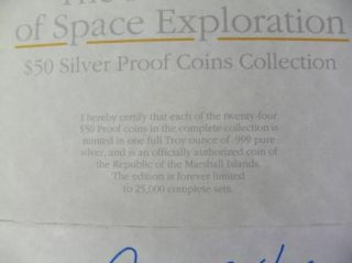 Coins .999 Fine Silver, 24 Oz. Total, Marshall Islands C247