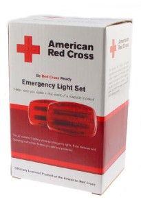 American Red Cross Emergency Light Roadside Light Set