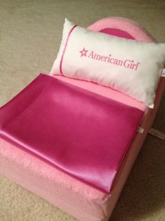 American Girl Doll Bed Chair Bedding Set Limited Edition Furniture Lot