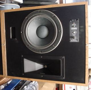 Altec Lansing 9842 8D Monitor Speaker System Pair Nice