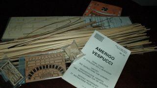 MANTUA PANART AMERIGO VESPUCCI PARTIAL KIT FOR PARTS KIT BASHING