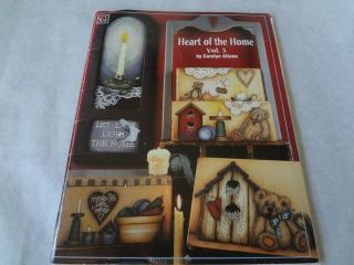 Heart of the Home Volume 3 Carolyn Altona Art Tole Painting Craft Book