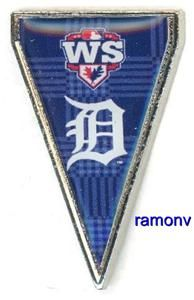 World Series Pennant Pin Al Champions World Series Aminco