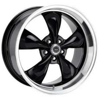 American Racing Torq Thrust M Black Wheel 17x9 5x4 75 Set of 2
