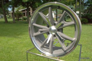 American Racing Daytona 17x7 or 8 Chevy GM Wheel Vintage Grey VN801