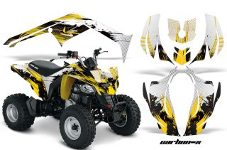 AMR Racing ATV Quad Graphic Sticker Kit Canam DS250 250 Bombardier