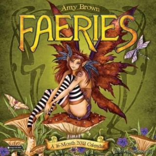 Amy Brown Fairy Faery 2013 Calendar Faeries New SEALED in Stock Ready
