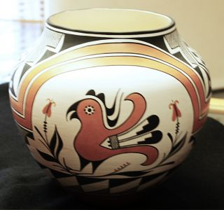 Acoma Pueblo Pottery by Alicia Kelsey Handcoiled