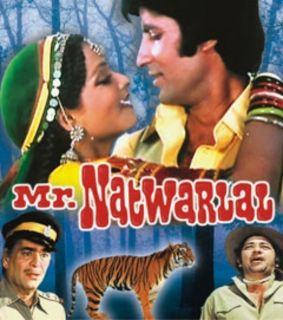 Mr Natwarlal Bollywood DVD Amitabh Bachchan Rekha