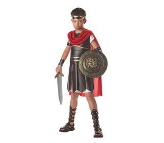 Hercules Gladiator Greek Roman Soldier Child Costume M