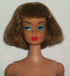 Vintage American Girl Barbie Doll RARE Brunette Light Brown Long Hair