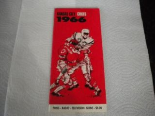 AFL American Football League media press guide MINT Kansas City