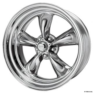 American Racing Torq Thrust II Polished Rims 15x7 5x4 5