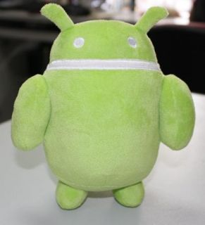 Green Android Droid Plush Soft Suffuse Toy Andrew Bell