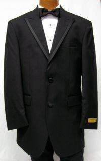 Andrew Fezza Black Savoy II Tuxedo Jacket 40R Free SHIP