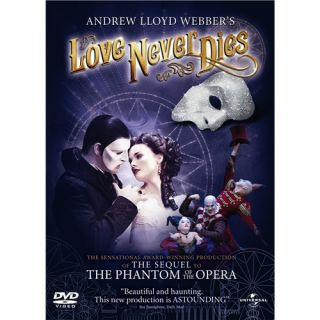 Andrew Lloyd Webbers Love Never Dies New DVD