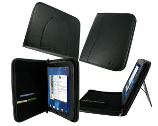 roocase executive leather case for hp touchpad tablet black mfg part
