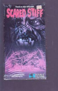 Scared Stiff Andrew Stevens David Ramsey 1987 RARE VHS