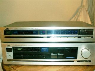 JVC A X30 Stereo Integrated Amplifier & JVC T X22 FM/AM Tuner