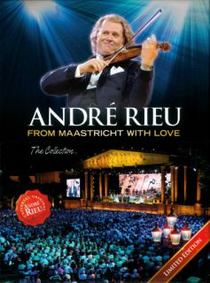 Andre Rieu from Maastricht with Love 6 DVD Boxset DVD Music