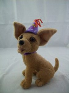Plush Official Taco Bell Happy New Year Chihuahua Dog