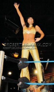 Angela Fong WWE Diva Savannah Ring Outfit Worn on FCW
