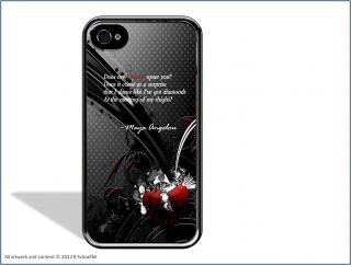 Poetry Quote Maya Angelou Still I Rise iPhone 5 Case Slim Fit Clip On