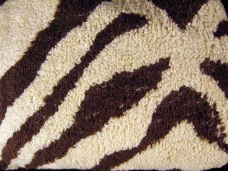 Genuine TURBIE TWIST Hair Towel Turban ZEBRA Animal Print One Size