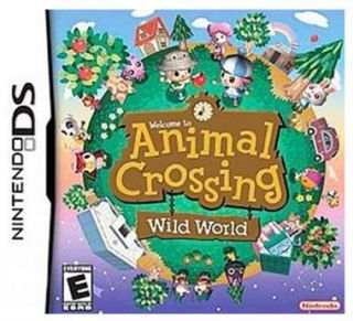 Nintendo Animal Crossing Wild World for NDS DS Lite NDSi DSi XL ll 3DS