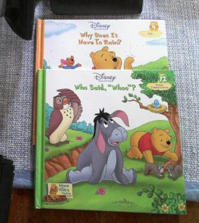 Pooh Thinking Spot science series book 4 12 rain animal communication