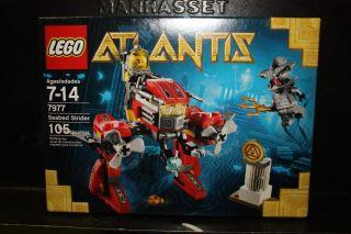 lego atlantis seabed strider 7977 new in box