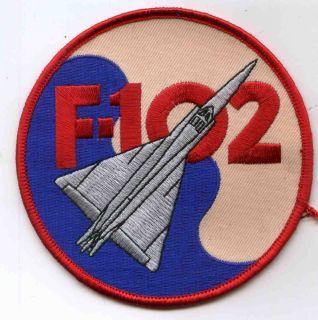 USAF Convair F 102 Delta Dagger Fighter Interceptor Patch Vietnam War