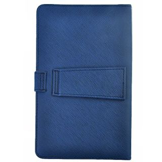 Blue 7 Android Tablet PC Mid Leather Keyboard Cover Case with Stylus
