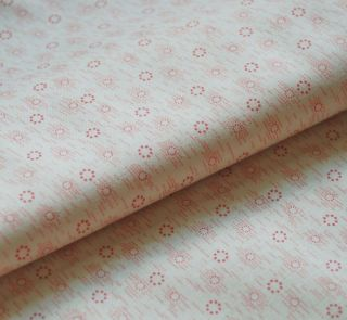 Pink Shirting Farmhouse Retreat 30s 1800s Repro Andover