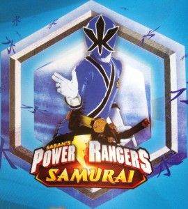 Power Rangers Samurai Gift Wrap Party 16 Sheets Wrapping Paper