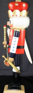 Steinbach The Old King Nutcracker Signed by Herr SB