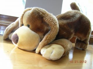 Animal Alley 14 Plush Basset Brown Puppy Hound Dog