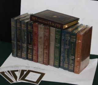 14 Vol Complete Set Easton Press Ian Fleming James Bond   Sealed