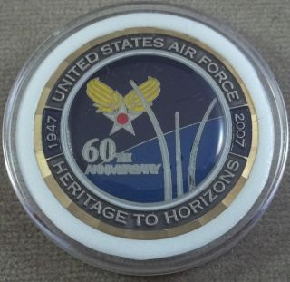 United States Air Force 60th Anniversary Challenge Coin