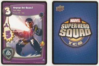 CCG Marvel Super Hero Squad 001 NSU Iron Man  Engage Uni Beam