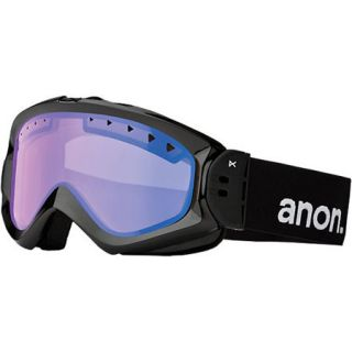 ANON MAJESTIC GOGGLES BLACK FRAME BLUE LAGOON LENS SNOW SKI NEW