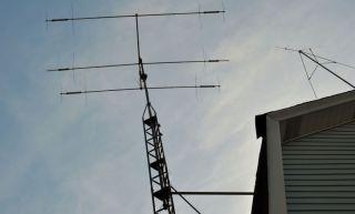 Antennas Ham Radio Cushcraft MA5B 20 17 15 12 10 Meter Beam Antenna